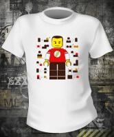 Футболка Big Bang Theory Sheldon Cooper Lego