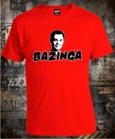 Футболка Big Bang Theory Bazinga Sheldon