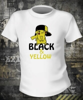 Футболка Black And Yellow Pika