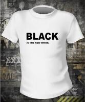 Футболка Black is white