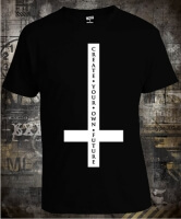 Футболка Blackcraftcult Cross Create Your Own Future