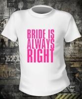 Футболка Bride is Always Right