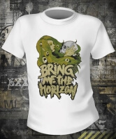 Bring Me The Horizon Girl And Skull White