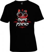 Футболка Cat Attack Cute But Psycho
