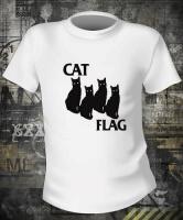 Футболка Cat Flag