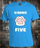 Футболка Cat Gimme Five