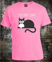 Футболка Cat I So Don't Care