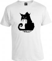 Футболка Cat What