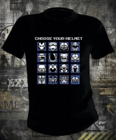 Футболка Choose Your Helmet