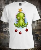 Футболка Christmas Octopus