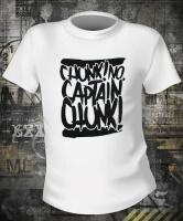Футболка Chunk No Captain Chunk Text