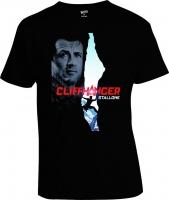 Футболка Cliffhanger Stallone Скалолаз Poster 2