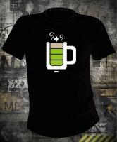 Футболка Coffee Battery