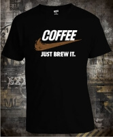 Футболка Coffee Just Brew It
