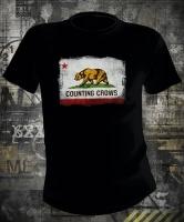 Футболка Counting Crows California Flag Bear