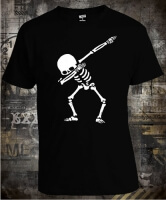 Футболка Dabbing Skeleton