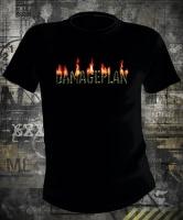 Damageplan Burning Logo