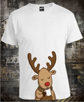 Футболка Deer with Cup