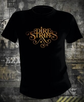 Футболка Dire Straits Gold Logo