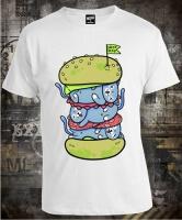 Футболка Drop Dead Cat Burger