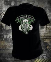 Футболка Dropkick Murphys Plaid Shield and Skulls