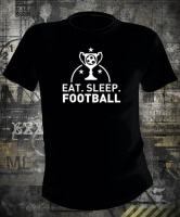 Футболка Eat Sleep Football