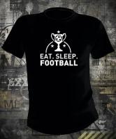 Футболка Eat Sleep Foootball