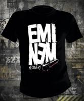 Футболка Eminem Recovery Microphone
