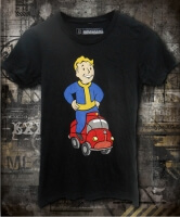 Футболка Fallout Red Car