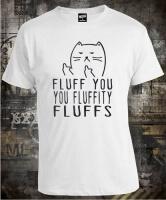 Футболка Fluff You Cat