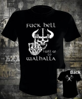 Футболка Fuck Hell Walhalla