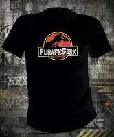 Футболка Furafic Fark Jurassic Park Parody