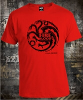 Game Of Thrones Fire & Blood House Stencil