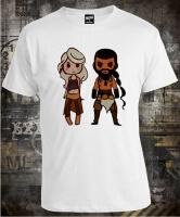 Футболка Game of Thrones Khal Khaleesi