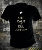 Футболка Game of Thrones Keep Calm And Kill Joffrey