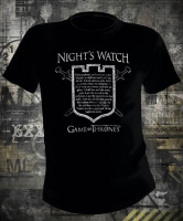 Футболка Game of Thrones Nights Watch Oath in Shield