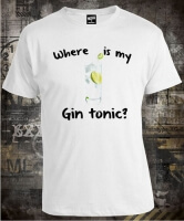 Футболка Where is My Gin Tonic