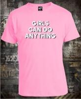 Футболка Girls can do anything