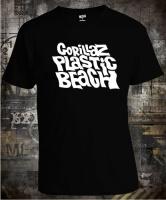 Футболка Gorillaz Plastic Beach