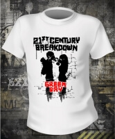 Green Day 21st Century Breakdown White