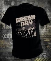 Green Day Grey Wall