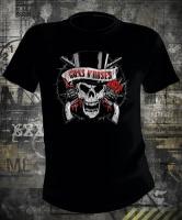 Guns N Roses Vintage Skull