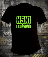 Футболка H5N1 I Survived