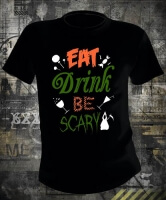Halloween Eat Drink Be Scary