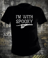 Футболка Halloween I'm With Spooky