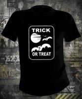 Футболка Halloween Trick Or Treat Flying Bats