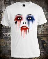 Футболка Harley Quinn Suicide Squad Eyes
