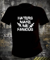 Футболка Haters make me famous