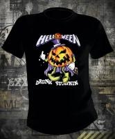 Футболка Helloween Drunk Pumpkin