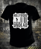 Футболка Hollywood Undead Barcode Flag